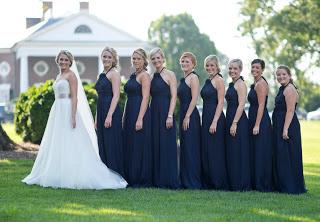bd50ad5d6d Our Bella Bridesmaids!!