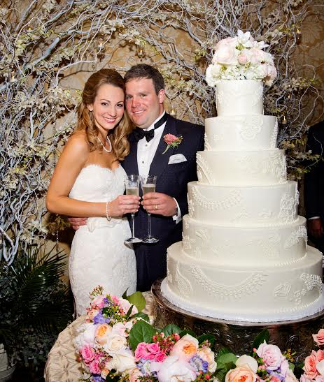 Lafayette Showroom Manager Brennan and her husband Nick! Brennan was a Bella Baton Rouge bride before joining the team!