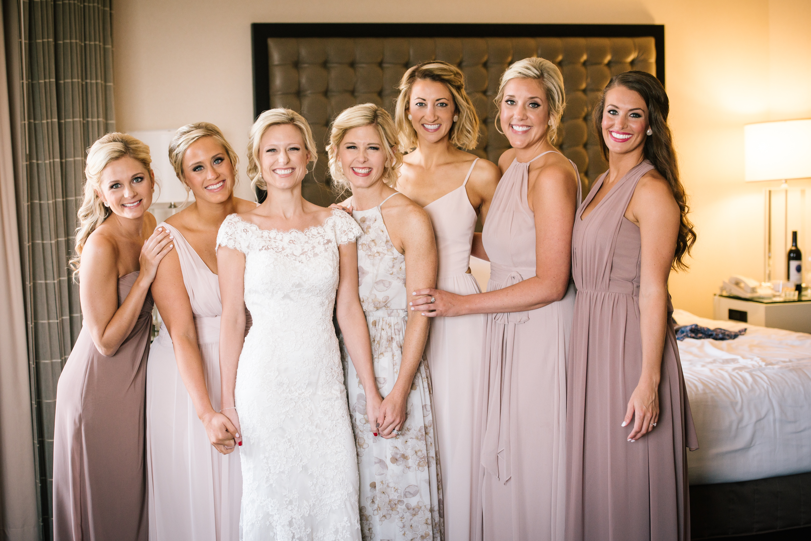 Emily Drews Wedding Bella Bridesmaids