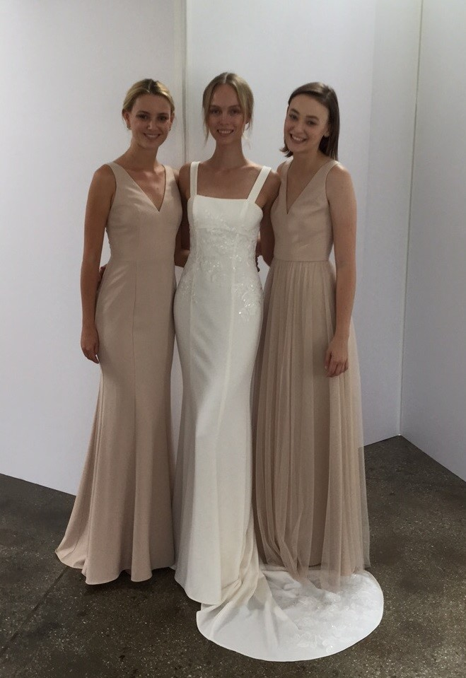 Set the Tone in the new Amsale Fall 2018 Collection! | Bella Bridesmaids
