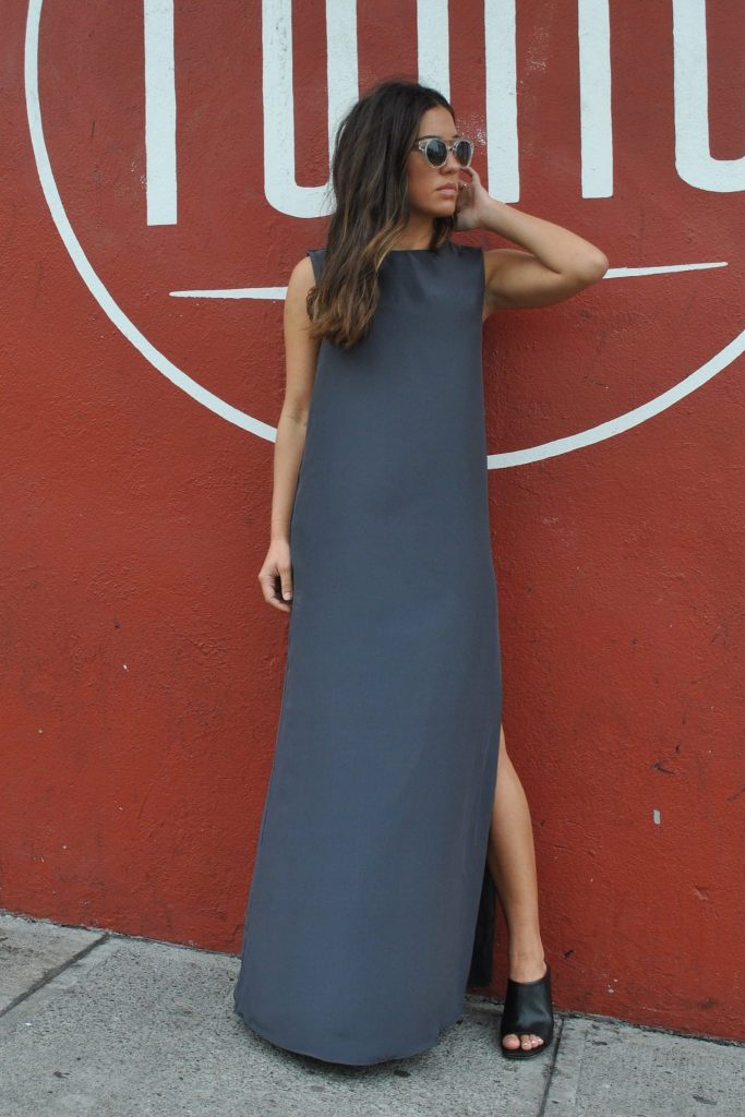 The Sleeveless Gown
